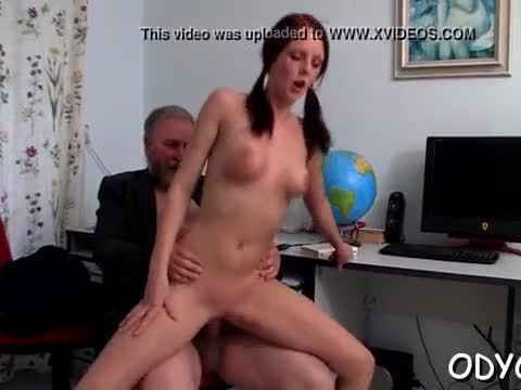 Barely legal slut loves old man greater amount than her coevals
