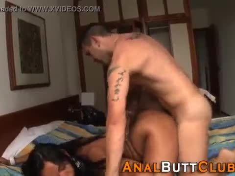 Big butt whore has anal