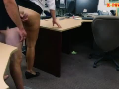 Phat ass amateur pounded by pawnkeeper at the pawnshop