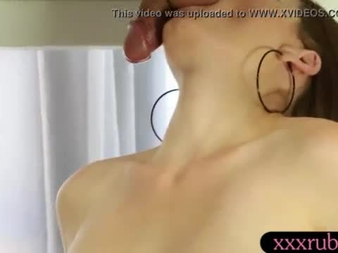 Big juicy tits masseuse blowjobs hard cock under the table