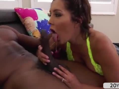 Hot milf Francesca Le in an interracial anal fuck