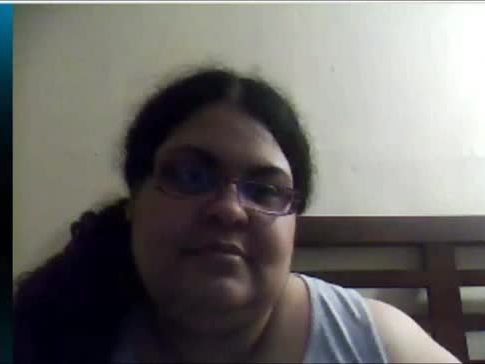 Chubby Boob Flash on Skype